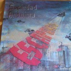 Discos de vinilo: SOCIEDAD ANONIMA EP 12 PULGADAS - RECORD 83 - 1984 - ESCAPANDO - MOVIDA POP ROCK. Lote 93880105