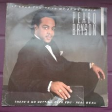 Discos de vinilo: PEABO BRYSON – IF EVER YOU'RE IN MY ARMS AGAIN. EDICION UK. Lote 93882080