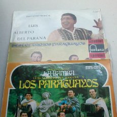 Discos de vinilo: LUIS ALBERTO DEL PARANA Y LOS PARAGUAYOS - LOTE 3 LPS - LA BAMBA - AÑOS 50 Y 60 - BUEN ESTADO. Lote 93882690