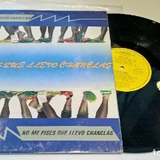 Discos de vinilo: MUSICA LP NO ME PISES QUE LLEVO CHANCLAS AGROPOP MANO NEGRA 1989 POP ESPAÑOL . Lote 93898430