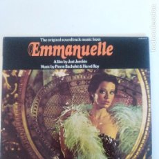 Discos de vinilo: EMMANUELLE ( 1975 WARNER BROS HISPAVOX ESPAÑA ) PIERRE BACHELET & HERVE ROY. Lote 93904975