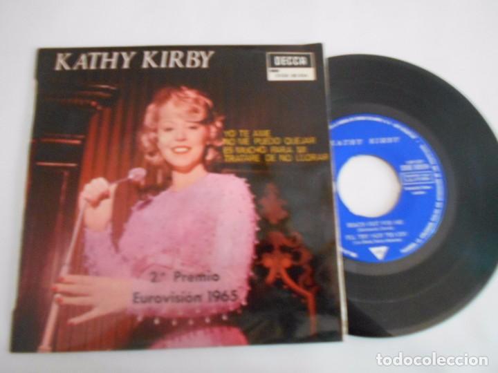 KATHY KIRBY -EP YO TE AME +3 (Música - Discos de Vinilo - EPs - Festival de Eurovisión)