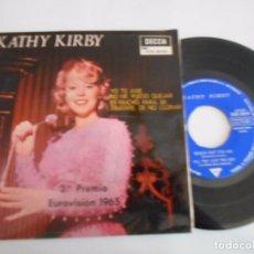 Discos de vinilo: KATHY KIRBY -EP YO TE AME +3. Lote 93905935