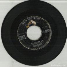 Discos de vinilo: ELVIS PRESLEY SINGLE ALL SHOOK UP / THAT´S WHEN YOUR HEARTACHES BEGIN.U.S.A..ESCUCHADO. Lote 93907135