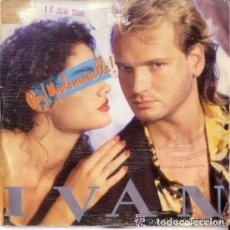 Discos de vinilo: IVAN, HEY MADEMOISELLE, 1986 SINGLE PROMO. Lote 93907195