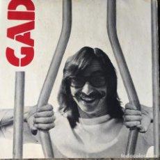Discos de vinilo: GAD - DES RAGOTS - DES RACONTARS . SINGLE . FRANCIA. Lote 93907420