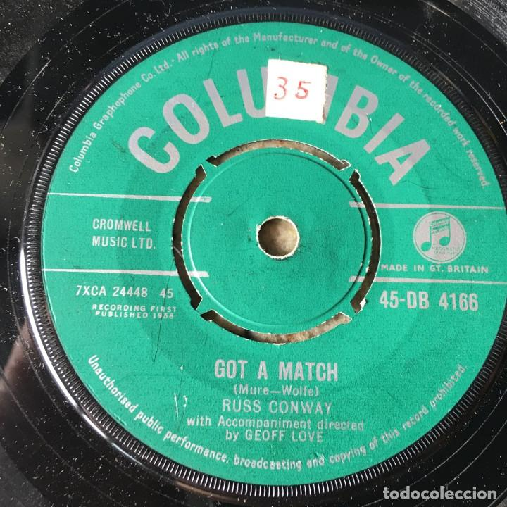 RUSS CONWAY - GOT A MATCH . 1958 UK (Música - Discos - Singles Vinilo - Rock & Roll)