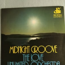 Discos de vinilo: THE LOVE UNLIMITED ORCHESTRA-MIDNIGHT GROOVE-1976-NUEVO. Lote 93909863