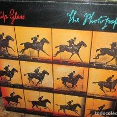 Discos de vinilo: PHILIP GLASS - THE PHOTOGRAPHER -LP CBS 1986 . Lote 93924360
