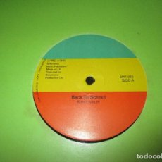Discos de vinilo: BUNNY WAILER ?– BACK TO SCHOOL + SOLOMONIC PLAYERS - SCHOOL DAYS DUB - MAXI SPLIT 1982. Lote 93925800