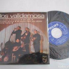 Disques de vinyle: LOS VALLDEMOSA-EP LLOVIENDO AL AMANECER +3. Lote 93935190