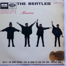 Discos de vinilo: THE BEATLES - HELP - THE NIGHT BEFORE - ODEON 1965. Lote 93943290
