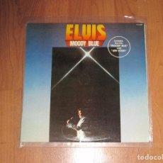 Discos de vinilo: ELVIS PRESLEY - MOODY BLUE - RCA - SPAIN - ( 1977 ) - T - . Lote 93953580