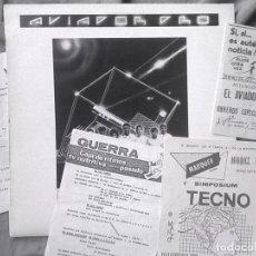Discos de vinilo: AVIADOR DRO - PROGRAMA EN ESPIRAL. MAXI-EP 1982, CON MEMORABILIA.. Lote 93964645