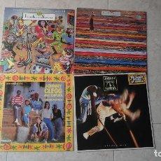 Discos de vinilo: LOTE 4 DISCOS DE JOHNNY CLEGG & SAVUKA. Lote 93975200