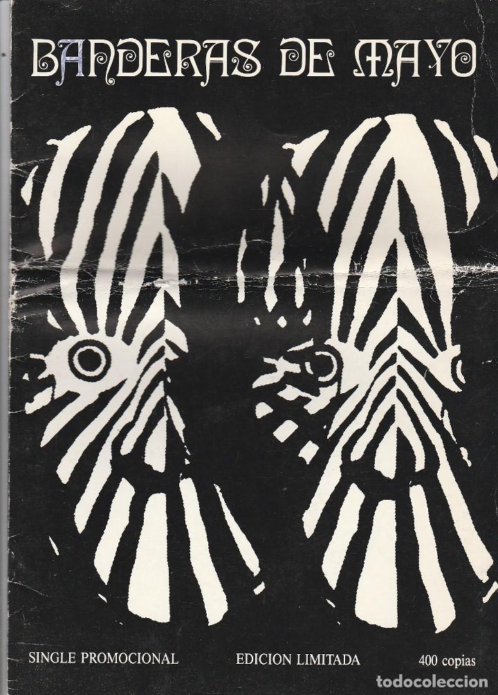 BANDERAS DE MAYO / NERVOUS SLASH / MAMA SOUL / SPEED (SINGLE PROMOCIONAL SOLO 400 COPIAS) CON LIBRET (Música - Discos de Vinilo - EPs - Grupos Españoles de los 90 a la actualidad)