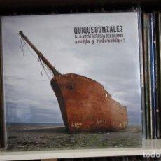 Discos de vinilo: QUIQUE GONZALEZ & LA ARISTOCRACIA DEL BARRIO. AVERIA Y REDENCIÓN, DOBLE LP, GATEFOLD. GASA REC, 2007. Lote 93999225