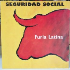 Discos de vinilo: SEGURIDAD SOCIAL. FURIA LATINA. WARNER MUSIC 1993. LP. Lote 94000695