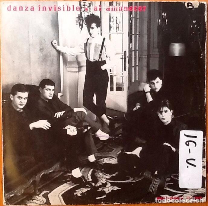 DANZA INVISIBLE : AL AMANECER [ESP 1983] (Música - Discos de Vinilo - Maxi Singles - Grupos Españoles de los 70 y 80)