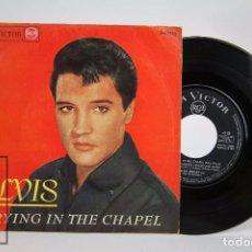 Discos de vinilo: DISCO EP DE VINILO - ELVIS PRESLEY. CRYING IN THE CHAPEL - RCA VICTOR, 1965. Lote 94023910