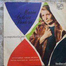 Discos de vinilo: MARIA DOLORES PRADERA ACOMPAÑADA POR LOS GEMELOS. Lote 94024815