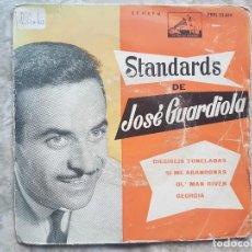 Disques de vinyle: STANDARDS DE JOSE GUARDIOLA - DIECISEIS TONELADAS +3. Lote 94024960