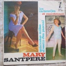 Discos de vinilo: MARY SANTPERE - LES CARAMELLES +3. Lote 94025120