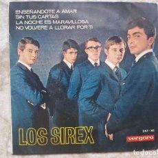Discos de vinilo: LOS SIREX - ENSEÑANDOTE A AMAR +3 . Lote 94025340