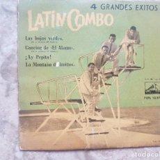 Discos de vinilo: LATIN COMBO - LAS HOJAS VERDES +3 . Lote 94025385