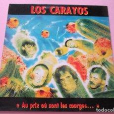 Discos de vinilo: LP-LOS CARAYOS-AU PRIX OÚ SONT LES COURGES...-1980-BUCHERIE PRODUCTIONS-12 TEMAS-FUNDAS NUEVAS-VER F. Lote 94032005