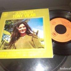 Discos de vinilo: TONY VILAR / DESPEINADA / EP 45 RPM / CBS 1963. Lote 94038505