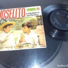 Discos de vinilo: JOSELITO / AVENTURAS DE JOSELITO Y PURGARCITO / EP 45 RPM / RCA 1960. Lote 94038740