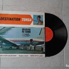 Discos de vinilo: TUI MALA GROUP, QUEEN SALOTE COLLEGE CHOIR, TONGAN ENTERTAINERS ?– DESTINATION TONGA LP HIBISCU. Lote 94048715