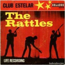 Discos de vinil: THE RATTLES – CLUB ESTELAR - EP SPAIN 1964 - ORLADOR 10019 B. Lote 94064225