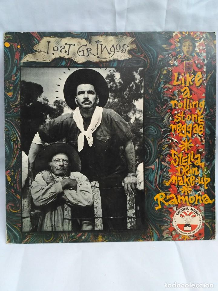 LOST GRINGOS (Música - Discos de Vinilo - Maxi Singles - Pop - Rock - New Wave Internacional de los 80)