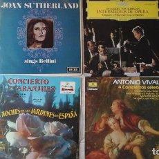 Lote de 14 discos de música clásica. Varios títulos