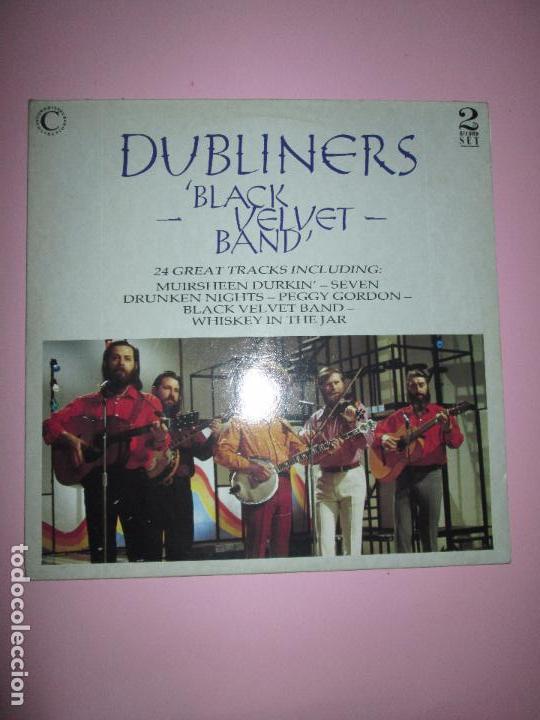 LP-DOBLE-DUBLINERS.-´BLACK VELVET BAND´-ENGLAND-1989-24 TEMAS-VINILOS SIN USAR-VER FOTOS (Música - Discos - LP Vinilo - Country y Folk)