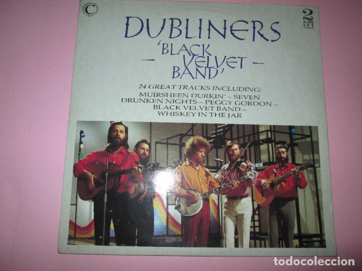 Discos de vinilo: lp-doble-dubliners.-´black velvet band´-england-1989-24 temas-vinilos sin usar-ver fotos - Foto 2 - 94081095