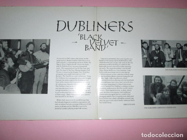 Discos de vinilo: lp-doble-dubliners.-´black velvet band´-england-1989-24 temas-vinilos sin usar-ver fotos - Foto 3 - 94081095
