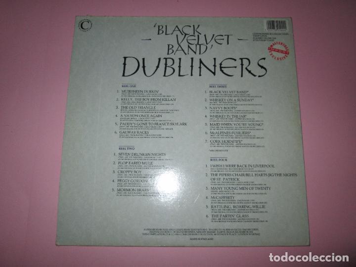 Discos de vinilo: lp-doble-dubliners.-´black velvet band´-england-1989-24 temas-vinilos sin usar-ver fotos - Foto 4 - 94081095
