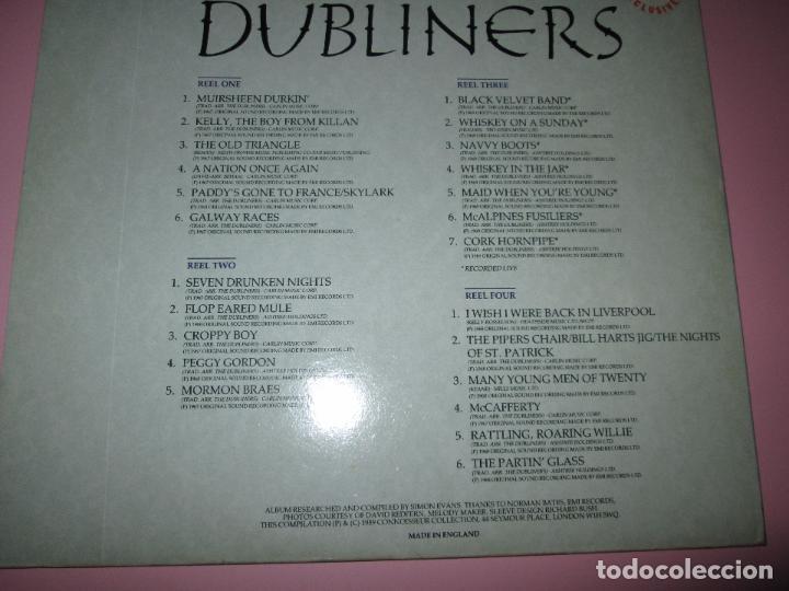 Discos de vinilo: lp-doble-dubliners.-´black velvet band´-england-1989-24 temas-vinilos sin usar-ver fotos - Foto 6 - 94081095
