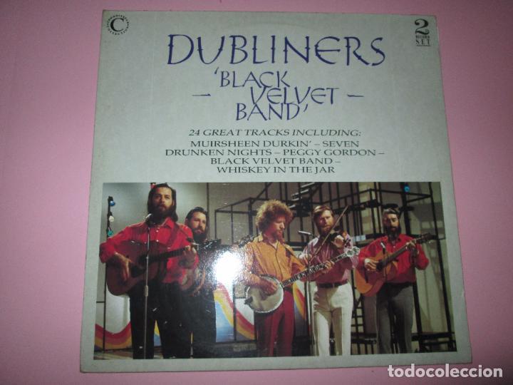 Discos de vinilo: lp-doble-dubliners.-´black velvet band´-england-1989-24 temas-vinilos sin usar-ver fotos - Foto 7 - 94081095