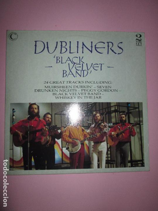 Discos de vinilo: lp-doble-dubliners.-´black velvet band´-england-1989-24 temas-vinilos sin usar-ver fotos - Foto 8 - 94081095