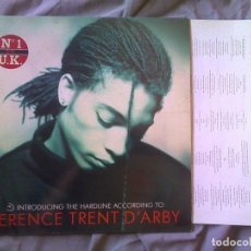 Discos de vinilo: TERENCE TRENT D'ARBY - INTRODUCING THE HARD LINE ACCORDING TO...LP PROMOCIONAL 1987. Lote 94082175