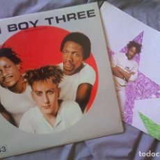 Discos de vinilo: FUN BOY THREE. LP 1982. CON POSTER. Lote 94083955
