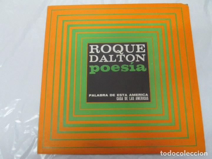 Discos de vinilo: ROQUE DALTON. POESIA. PALABRA DE ESTA AMERICA. CASA DE LAS AMERICAS. 1980. DISCO DE VINILO - Foto 6 - 172253385