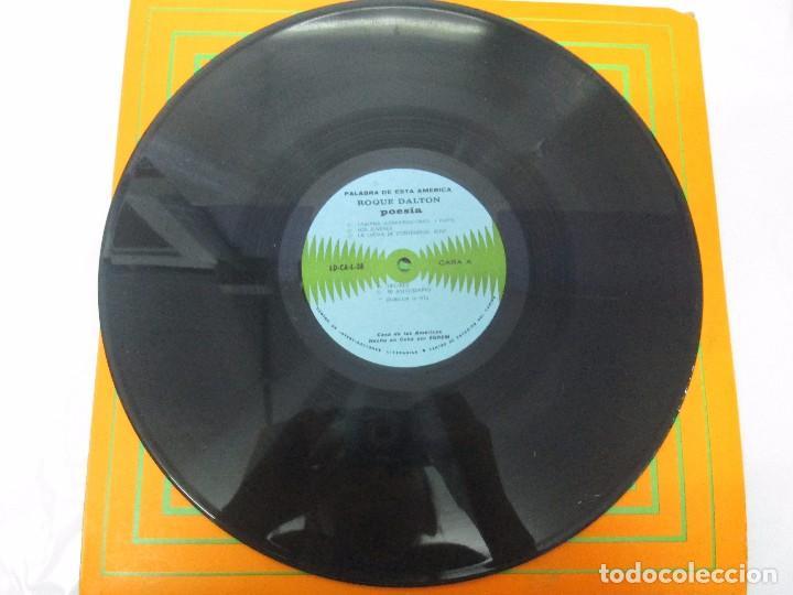 Discos de vinilo: ROQUE DALTON. POESIA. PALABRA DE ESTA AMERICA. CASA DE LAS AMERICAS. 1980. DISCO DE VINILO - Foto 7 - 172253385