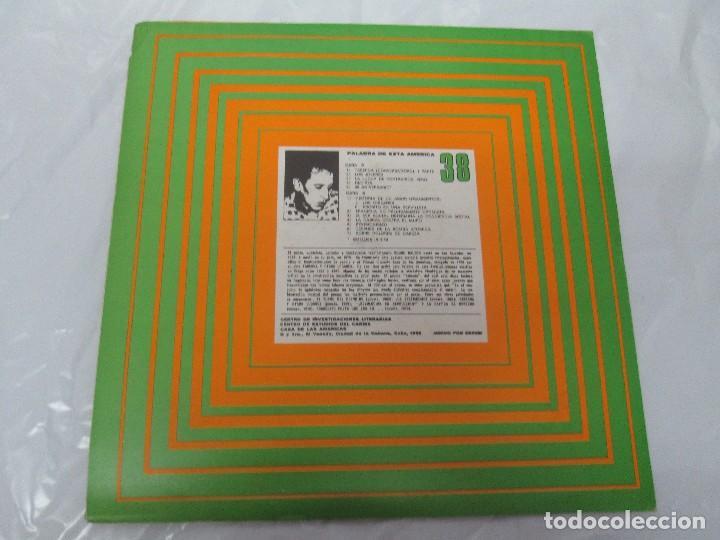 Discos de vinilo: ROQUE DALTON. POESIA. PALABRA DE ESTA AMERICA. CASA DE LAS AMERICAS. 1980. DISCO DE VINILO - Foto 3 - 172253385