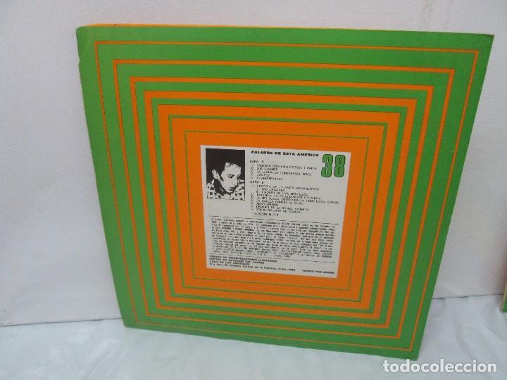 Discos de vinilo: ROQUE DALTON. POESIA. PALABRA DE ESTA AMERICA. CASA DE LAS AMERICAS. 1980. DISCO DE VINILO - Foto 5 - 172253385