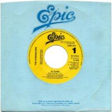 Discos de vinilo: THE STRANGLERS - 96 TEARS - SG SIDED PROMO SPAIN 1990 - EPIC ARIE 2371. Lote 94097970